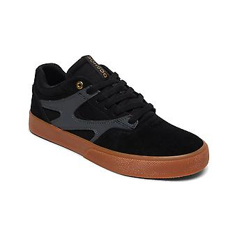DC Kalis Vulc Trainers in Black/Grey