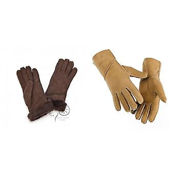 Eastern Counties Leather Womens/Ladies Long Cuff Sheepskin Gloves