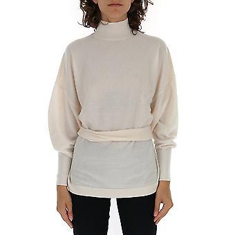 Zimmermann 6630tesppel Women's White Wool Sweater