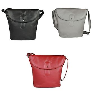 Eastern Counties Leather Womens/Ladies Demi Handbag With Rounded Flap