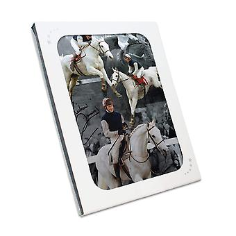 Signé Richard Dunwoody Horse Racing photo: Desert Orchid. Coffret cadeau