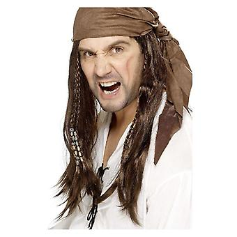 Buccaneer Pirat Perücke
