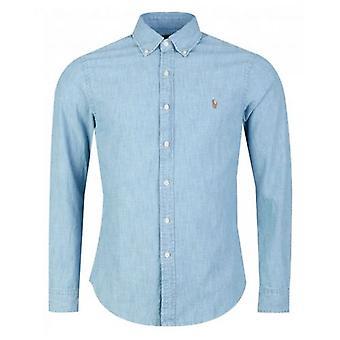 Polo Ralph Lauren Custom Slim Fit Chambray Shirt