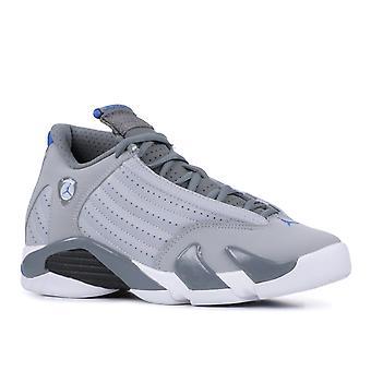 Air Jordan 14 Retro Bg (Gs) 'Sport Blue' - 487524-004 - Shoes
