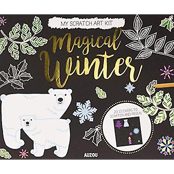 Magical Winter (Scratch Art Kit) by Jane Ryder-Gray - 9782733871935 B