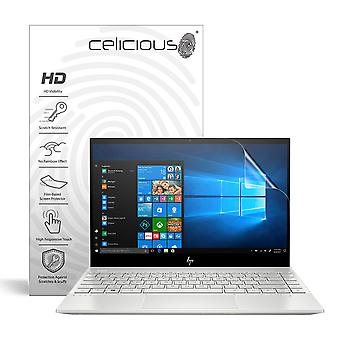 Celicious Vivid Invisible Glossy HD Screen Protector Film Compatible with HP ENVY 13 AQ1005TX [Pack of 2]