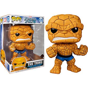 """Fantastic Four The Thing US Exclusive 10"""" Pop! Vinyl"""
