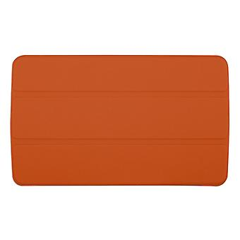 """Slim Compact PU Magnetic Leather Case Cover for LG G Pad F 8""""[Orange]"""