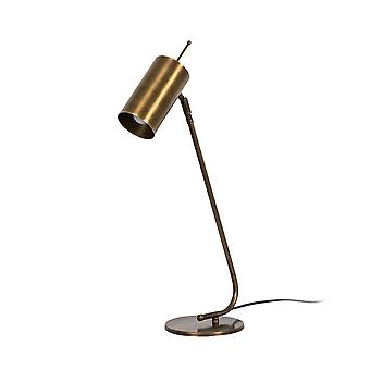 Lampada da Tavolo Clix Color Rame in Metallo 17x17x55 cm