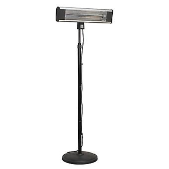 Sealey Ifsh1809R Carbon Fibre Infrared Patio Heater 1800W/230V & Floor Stand