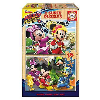 Puzzle Mickey ja Roadster Racers Educa (16 kpl)