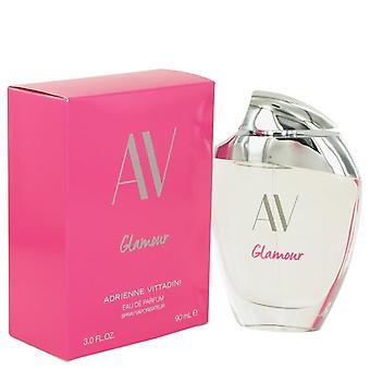 AV Glamour Eau De Parfum Spray par Adrienne Vittadini 3 oz Eau De Parfum Spray
