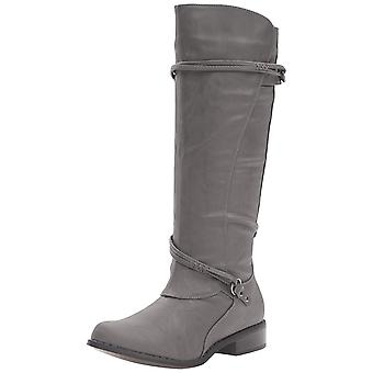 Journee Collection Womens Harley Almond Toe Knee High Fashion Boots