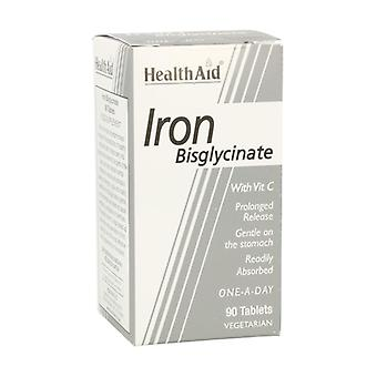 بيجليسيت الحديد مع فيتامين C 90 أقراص
