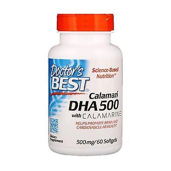Calamari DHA Omega-3 met Calamarine 500mg 60 softgels