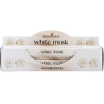 Quelque chose de différent éléments bâtonnets d'encens musc blanc (paquet de 6)