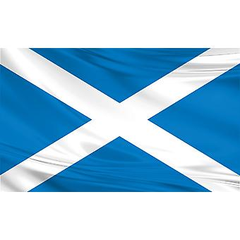 Pack of 3 Scotland Flag 5ft x 3ft St Andrew Polyester Fabric Country National