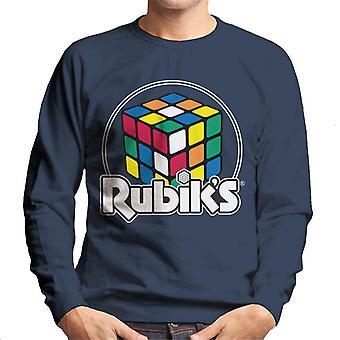 Rubik ' s Circle logo miesten ' s College pusero