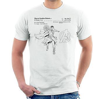 Marvel Avengers Infinity War Doctor Strange Patent Men's T-Shirt