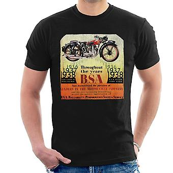 BSA Ao longo dos anos Men''s T-Shirt