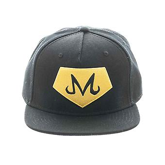 Dragon Ball Z Baseball Cap Core Otp Majin Logo new Official Black Snapback
