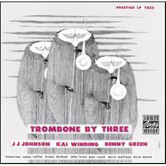 Enroulement/Johnson/Green - Trombone par trois l'importation USA [CD]