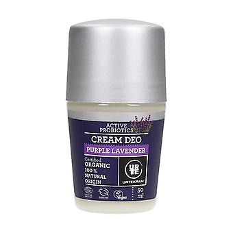 Roll on Purple Lavender Cream Deodorant 50 ml of cream