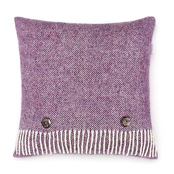 Wool Cushion lavender