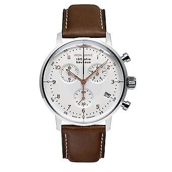 Iron Annie 5096-4 Bauhaus White Dial With Chronograph Wristwatch