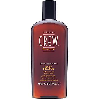American Crew- Crew Daily Shampoo - 15.2oz/450ml