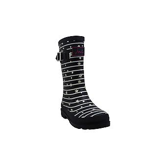 Kids Joules Girls Mollywelly Rubber Mid-Calf Pull On Rain Boots