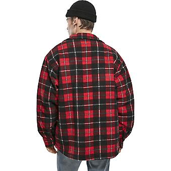 Urban Classics - Flannel Teddy Shirt Jacket