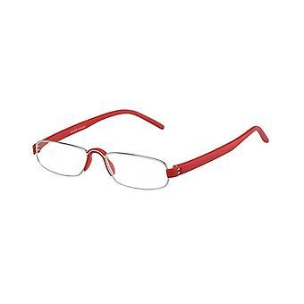 Lesebrille Unisex  Le-0163F Notar rot Stärke +4.00