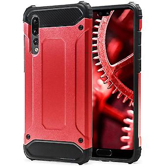 Shell for Huawei P20 Pro Red Armor Protection Case Hard