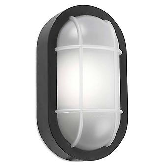 Leds-C4 Turtled - Outdoor LED Schott Wandlicht grau Weiß 701lm 3000K IP65