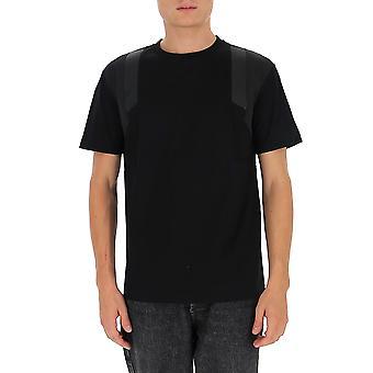 Les Hommes Ljt101703b9000 Men's Zwart Katoen T-shirt