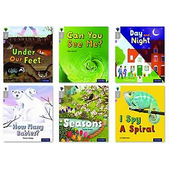Oxford Reading Tree inFact Oxford Level 1 Mixed Pack of 6 by Charlotte Raby & Rob Alcraft & Teresa Heapy & J C Morrison & Series edited by Nikki Gamble