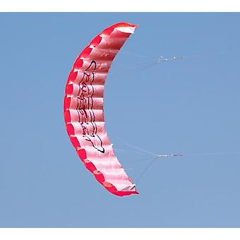Dual Line Stunt Parafoil Parachute - Rainbow Sports Beach Kite para principiantes
