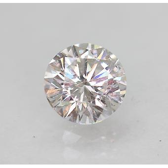 معتمد 0.51 قيراط E VS1 جولة رائعة المحسنة الطبيعية فضفاضة الماس 5.06mm