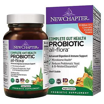 New Chapter Probiotic All-Flora, 30 Veg Caps