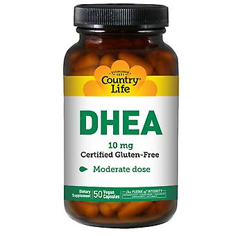 Country Life DHEA, 10 mg, 50 Caps