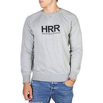 Hackett hm580656 män's långa ärmar sweatshirt