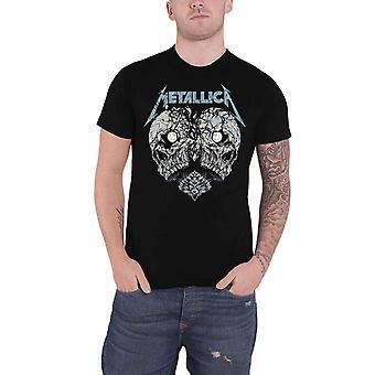 Metallica T Shirt Heart Broken Band Logo uusi virallinen Mens Black