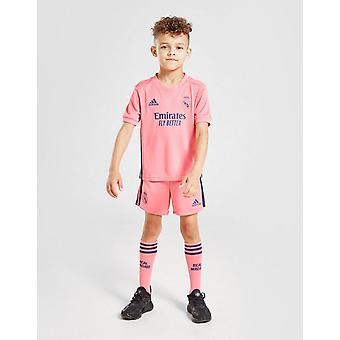 New adidas Kids' Real Madrid 2020/21 Away Kit Pink