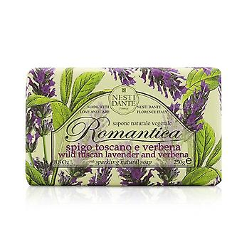 Nesti Dante Romantica Sparkling Natural Soap - Wild Tuscan Lavender & Verbena 250g/8.8oz