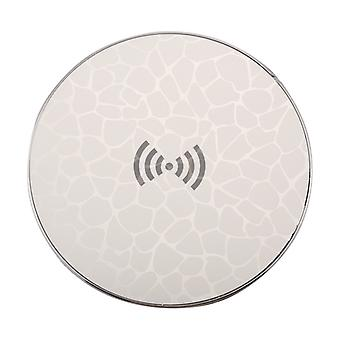 5V 1A Universal 5W Fast Qi Standard Wireless Charger with Indicator Light For iPhone, Galaxy, Huawei, Xiaomi, LG, HTC and Other QI Standard Smart Phon