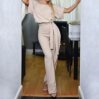 Elegante Vrouwen Jumpsuit O-hals