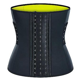 Latex Waist Trainer Corset Acero Hueso Forma Cuerpo Shapers Mujeres Corset