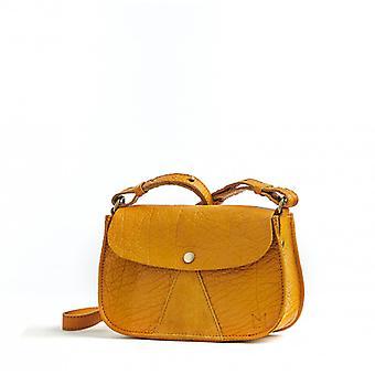 L'Insolent - Mustard - Bubble Leather