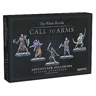 The Elder Scrolls Call To Arms Adventurer Followers